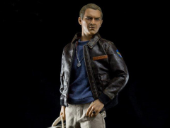 The Great Escape Capt. Virgil Hilts With Detective Costume 1/6 Scale Figure Set