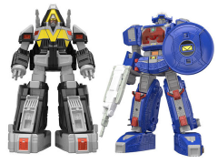 Power Rangers in Space Super Mini-Pla Astro Megazord & Delta Megazord Model Kit