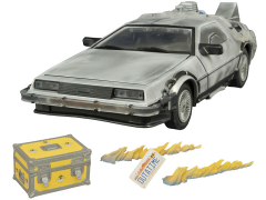 1:15 Scale Back To The Future Iced Time Machine Collector Set