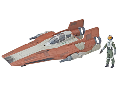 Star Wars Force Link 2.0 Resistance A-Wing Fighter (The Last Jedi)