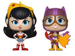 DC Bombshells Vynl. Wonder Woman + Batgirl