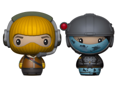 Fortnite Pint Size Heroes Raptor & Elite Agent Two-Pack