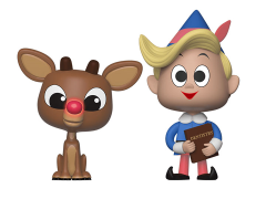 Rudolph the Red-Nosed Reindeer Vynl. Rudolph + Hermey