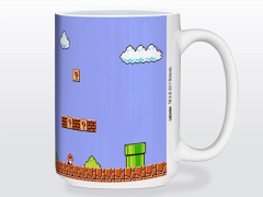 Super Mario Bros. Retro Title 15oz. Mug