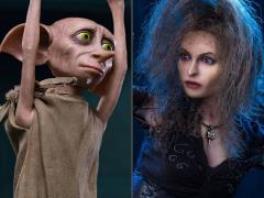 Harry Potter and the Half-Blood Prince Bellatrix Lestrange With Dobby 1/6 Scale Figure Two-Pack