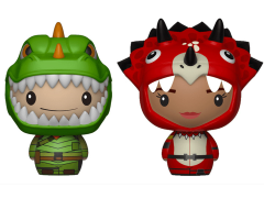 Fortnite Pint Size Heroes Rex & Tricera Ops Two-Pack
