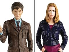 Doctor Who Figurine Collection Companion Set #2 Tenth Doctor & Rose Tyler