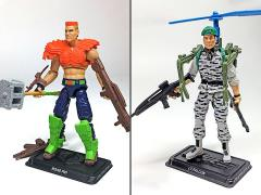 G.I. Joe The Final Twelve Lt. Falcon & Road Pig GI Joe Club 2018 Exclusive Set