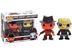 Pop! Movies: A Nightmare On Elm Street & Friday The 13th - Freddy Krueger & Jason Voorhees Exclusive