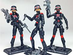 G.I. Joe Cobra Night Stalkers Female Troopers GI Joe Club 2018 Exclusive Three-Pack