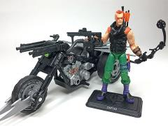 GI Joe Ninja Force Zartan with Cold Slither Cycle GI Joe Club 2018 Exclusive