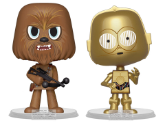 Star Wars Vynl. Chewbacca + C-3PO