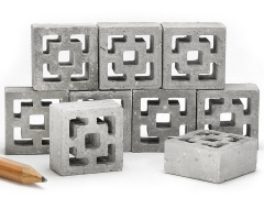 Mini Materials 1/12 Scale Mini Vista Vue Breeze Blocks (9 Pack)