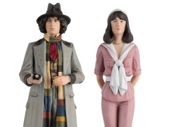 Doctor Who Figurine Collection Companion Set #3 Fourth Doctor & Sarah