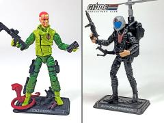 GI Joe The Final Twelve Black Spider Rendezvous & Coils O'Doom GI Joe Club 2018 Exclusive Set