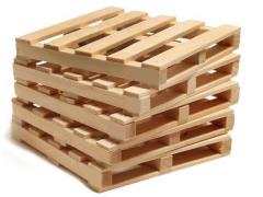 Mini Materials Mini Pine Pallet Coasters (5 Pack)