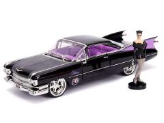 DC Comics Bombshells Die Cast Catwoman & 1959 Cadillac Coupe Deville