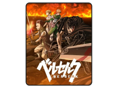 Berserk Group Digital Throw Blanket