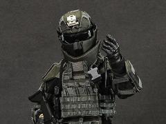 Heavy Breacher (Multicam Black) 1/6 Scale Uniform & Armor Set