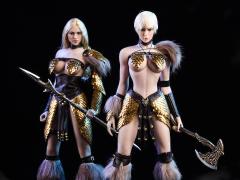 Dragon Female Warrior Armor (Editions A + B) 1/6 Scale Accessory Set