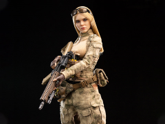 A-TACS FG Woman Soldier Jenner (Style B) 1/6 Scale Figure