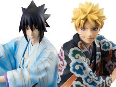 Naruto G.E.M. Series Naruto Uzumaki & Sasuke Uchiha (Kabuki Ver.) Set