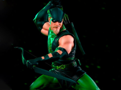 DC Comics Battle Diorama Series Green Arrow 1/10 Art Scale Limited Edition Statue