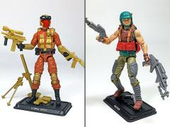 G.I. Joe The Final Twelve Dodger & Cobra Viper GI Joe Club 2018 Exclusive Set