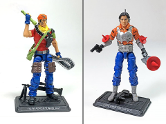 G.I. Joe The Final Twelve Psyche-Out & Tunnel Rat GI Joe Club 2018 Exclusive Set