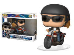 Pop! Rides: Captain Marvel - Carol Danvers on Motorcycle