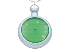 Dragon Ball Z Radar Keychain