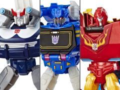Transformers: Cyberverse Warrior Wave 3 Set of 3 Figures