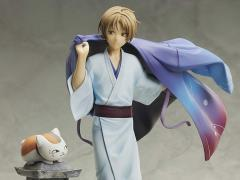 Natsume's Book of Friends Takashi Natsume With Nyanko Sensei 1/8 Scale Figure