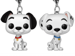Pocket Pop! Keychain Disney: 101 Dalmations - Pongo & Perdita Two-Pack
