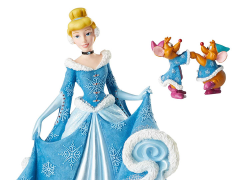 Cinderella Disney Showcase Holiday Cinderella Figurine With Mice