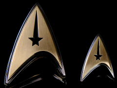 Star Trek: Discovery Enterprise Command Badge & Pin Set