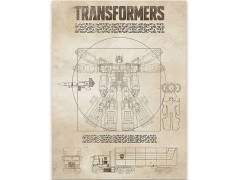 Transformers Generations: The Vitruvian Prime Canvas Art Print