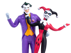 Batman: The Animated Series The Joker & Harley Quinn Bendable Figure Two-Pack