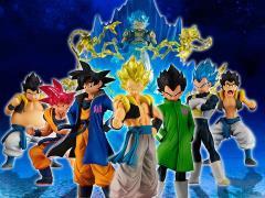 Dragon Ball Super HG Goku & Vegeta Exclusive Fusion Set of 8 Figures