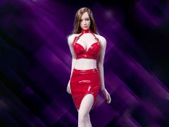 Leather Skirt (Red) 1/6 Scale Accessory Set