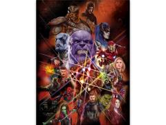 Avengers: Infinity War All Players Poster Canvas Art Print