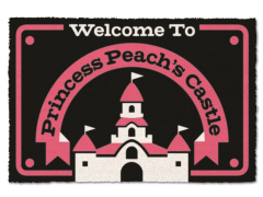 Super Mario Princess Peach's Castle Door Mat