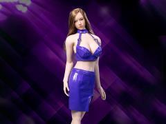 Leather Skirt (Purple) 1/6 Scale Accessory Set