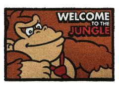 Donkey Kong Welcome to the Jungle Door Mat