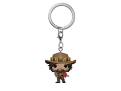 Pocket Pop! Keychain: Overwatch - McCree