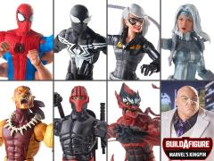 Spider-Man Marvel Legends Wave 9 Set of 7 Figures (Kingpin BAF)