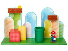 "World of Nintendo 2.50"" Acorn Plains Playset"