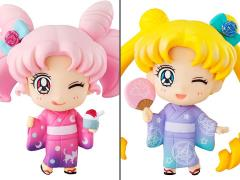 Sailor Moon Petit Chara! Usagi Tsukino & Chibiusa (Kyoto Marubeni Ver.) Two-Pack