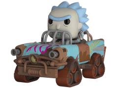 Pop! Rides: Rick and Morty - Mad Max Rick