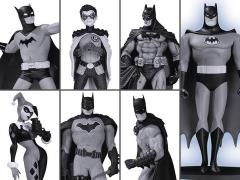 Batman Black and White Mini Figure Box Set #2